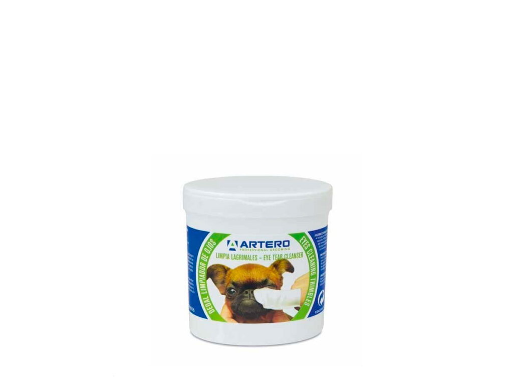 dedal limpiador lagrimal perros gatos artero