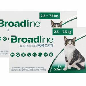 antiparasitario broadline gatos
